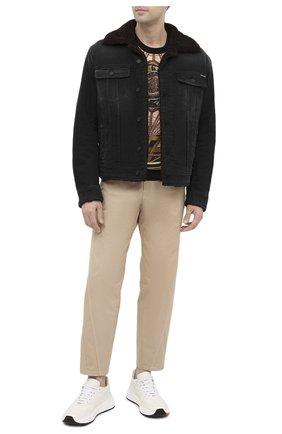 Мужская джинсовая куртка DOLCE & GABBANA темно-серого цвета, арт. G9JB5Z/G8C02 | Фото 2