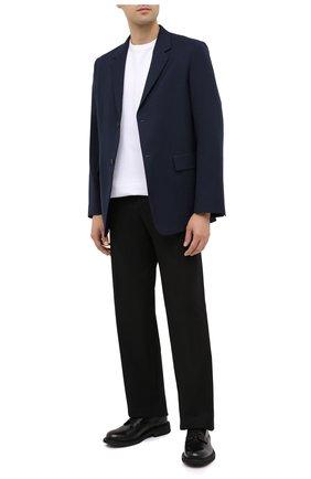 Мужской шерстяной пиджак JIL SANDER темно-синего цвета, арт. JSMR135001-MR202500   Фото 2