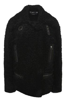 Женская дубленка TOM FORD черного цвета, арт. CSF621-FUX126 | Фото 1