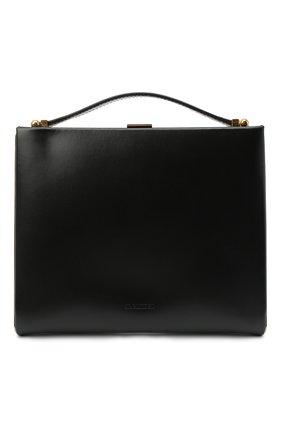 Женская сумка box JIL SANDER черного цвета, арт. JSPR856440-WRB69143N | Фото 1