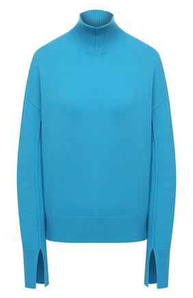 Женский свитер из шерсти и кашемира MRZ голубого цвета, арт. FW20-0050 | Фото 1
