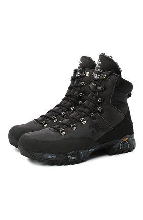 Мужские комбинированные ботинки midtreck PREMIATA черного цвета, арт. MIDTRECK/VAR184 | Фото 1