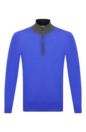 Мужской шерстяной джемпер SVEVO синего цвета, арт. 1373/8SA20/MP13 | Фото 1
