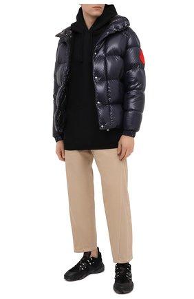 Мужская пуховая куртка 2 moncler 1952 MONCLER GENIUS темно-синего цвета, арт. F2-092-1A531-00-68950 | Фото 2