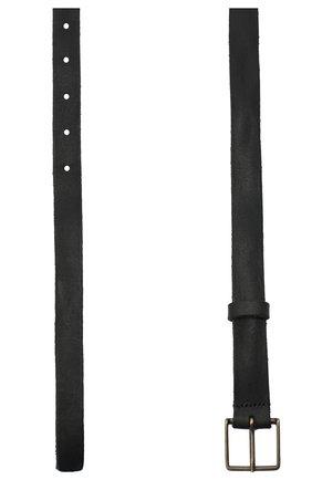 Женский кожаный ремень FORTE_FORTE черного цвета, арт. 7648 | Фото 2