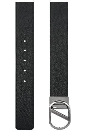 Мужской кожаный ремень Z ZEGNA темно-коричневого цвета, арт. B1GR1B/958A | Фото 2