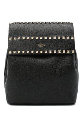 Женский рюкзак rockstud VALENTINO черного цвета, арт. UW0B0H60/YRK | Фото 1