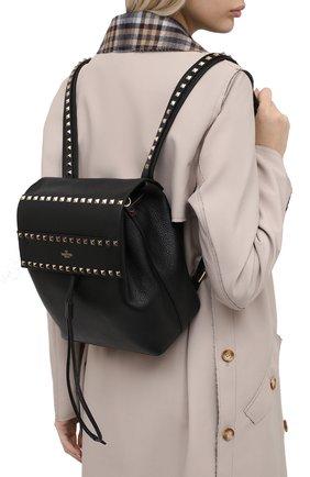 Женский рюкзак rockstud VALENTINO черного цвета, арт. UW0B0H60/YRK | Фото 2