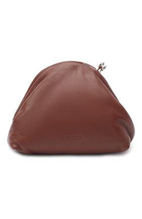 Женский клатч JIL SANDER коричневого цвета, арт. JSPR856439-WRB01016 | Фото 1
