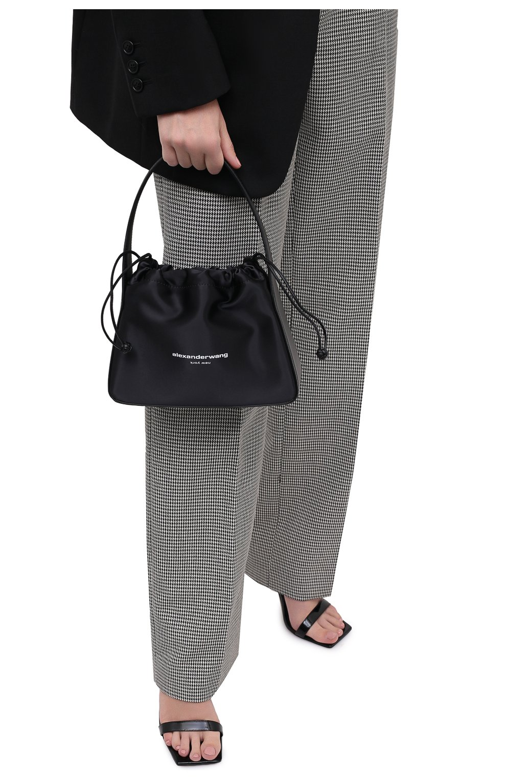 Женская сумка ryan ALEXANDER WANG черного цвета, арт. 20C220R192 | Фото 2