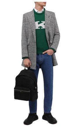 Мужской кожаный рюкзак city SAINT LAURENT черного цвета, арт. 534967/0TJ6F | Фото 2