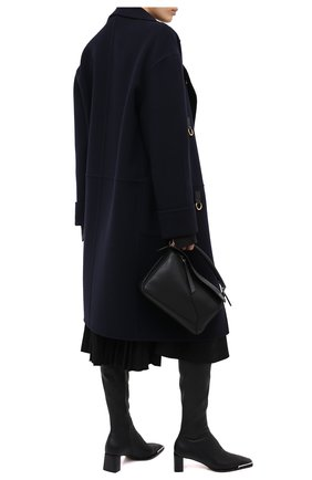 Женские кожаные ботфорты ALEXANDER WANG черного цвета, арт. 30C220B084 | Фото 2