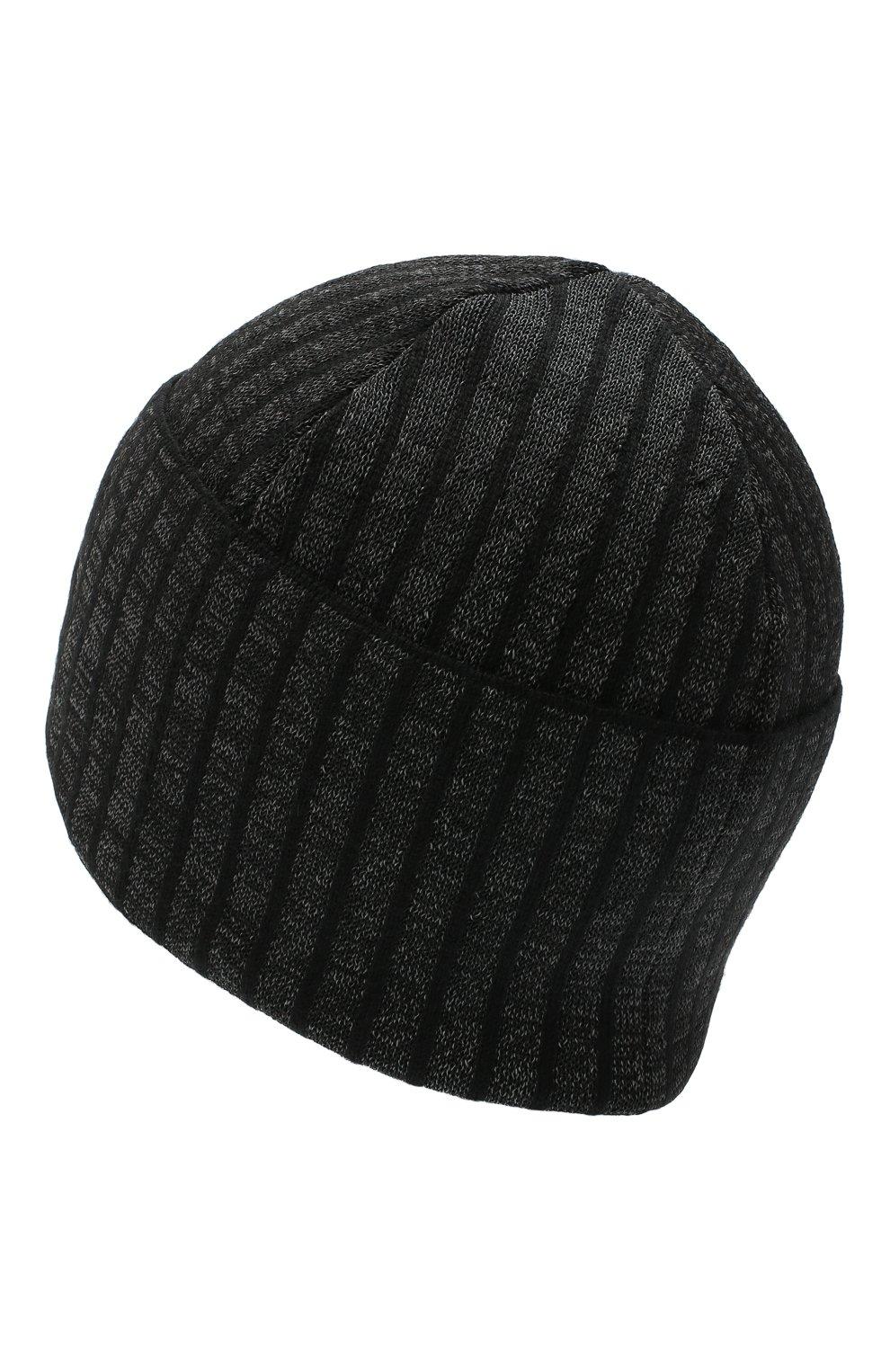 Мужская шапка Y-3 черного цвета, арт. GK0638/M | Фото 2