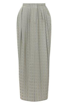 Женская юбка VIKA GAZINSKAYA серого цвета, арт. FW20-1835 | Фото 1