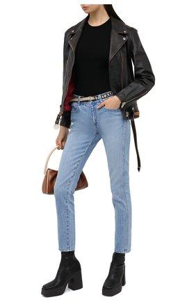 Женские джинсы STELLA MCCARTNEY голубого цвета, арт. 372773/S0H07 | Фото 2