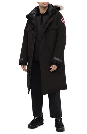Мужская пуховая парка westmount CANADA GOOSE черного цвета, арт. 2004M   Фото 2