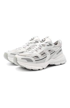 Женские комбинированные кроссовки marathon r-trail AXEL ARIGATO белого цвета, арт. 93061 | Фото 1