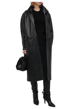 Женские кожаные сапоги rockstud flair VALENTINO черного цвета, арт. UW2S0Z36/MLR | Фото 2