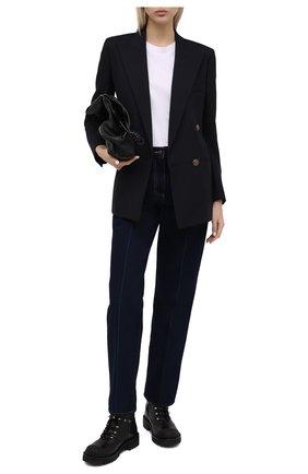 Женские кожаные ботинки valentino garavani rockstud VALENTINO черного цвета, арт. UW2S0R66/GNW | Фото 2