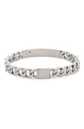 Мужской серебряный браслет MAISON MARGIELA серебряного цвета, арт. SM1UY0007/S12706 | Фото 2