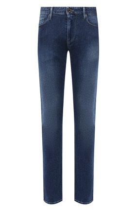 Мужские джинсы EMPORIO ARMANI синего цвета, арт. 6H1J06/1DL6Z | Фото 1