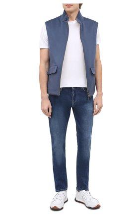 Мужские джинсы EMPORIO ARMANI синего цвета, арт. 6H1J06/1DL6Z | Фото 2