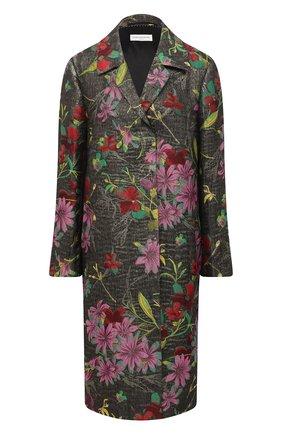 Женское пальто DRIES VAN NOTEN разноцветного цвета, арт. 202-30268-1337 | Фото 1