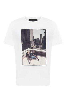 Мужская хлопковая футболка LIMITATO белого цвета, арт. N0 STRINGS/T-SHIRT | Фото 1
