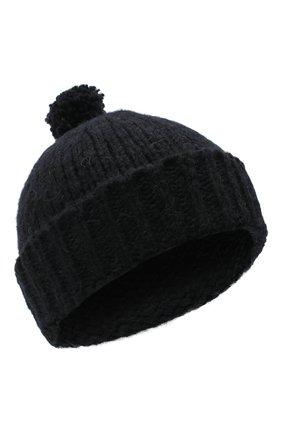 Мужская шерстяная шапка DRIES VAN NOTEN черного цвета, арт. 202-22204-1704 | Фото 1