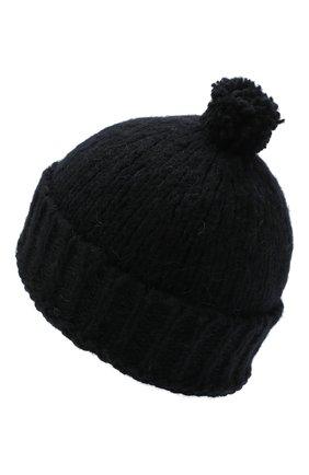 Мужская шерстяная шапка DRIES VAN NOTEN черного цвета, арт. 202-22204-1704 | Фото 2