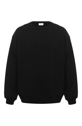 Мужской хлопковый свитшот DRIES VAN NOTEN черного цвета, арт. 202-21157-1606 | Фото 1