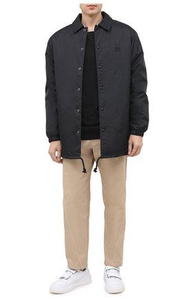 Мужской хлопковый свитшот DRIES VAN NOTEN черного цвета, арт. 202-21157-1606 | Фото 2