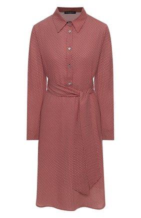 Женское платье PIETRO BRUNELLI красного цвета, арт. AG1713/PL0065 | Фото 1