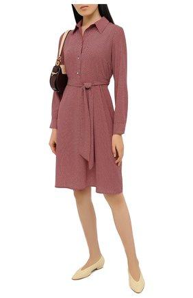 Женское платье PIETRO BRUNELLI красного цвета, арт. AG1713/PL0065 | Фото 2