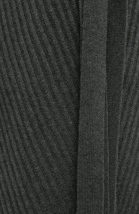 Женский кашемировый кардиган LE KASHA хаки цвета, арт. DALLAS0   Фото 6 (Материал внешний: Шерсть; Рукава: Длинные; Стили: Кэжуэл)