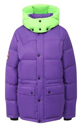 Женский пуховик gaz ARCTIC EXPLORER фиолетового цвета, арт. GAZ_PURPLE_W | Фото 1