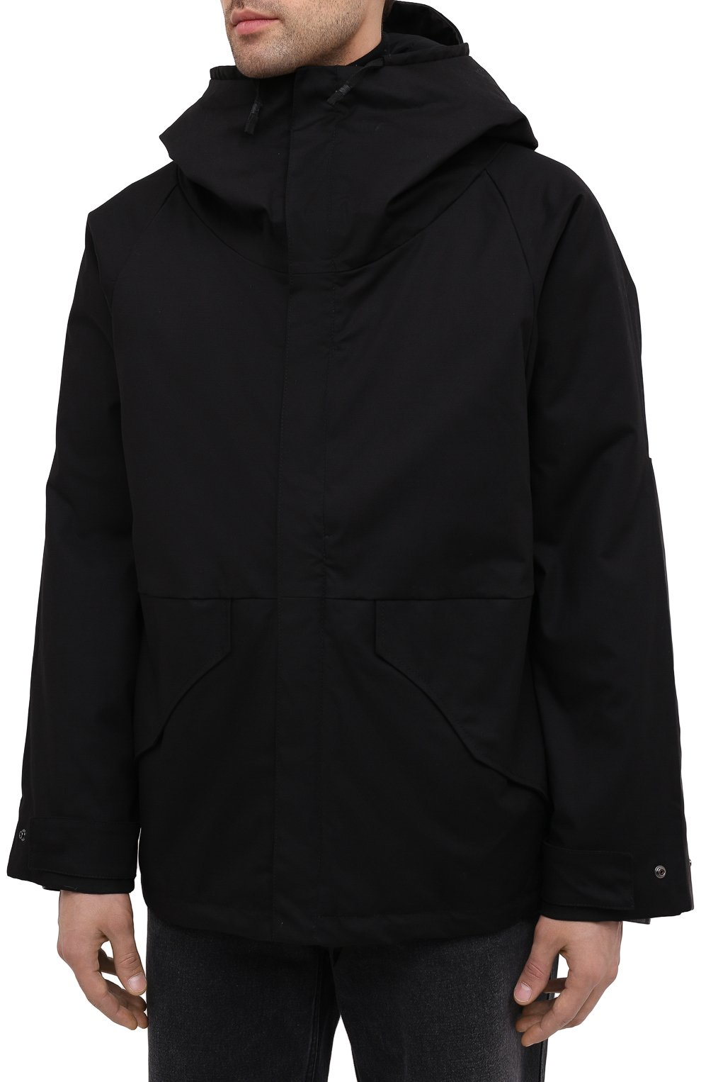 Мужская пуховая куртка DANIELE BASTA черного цвета, арт. DB729T19X25CF/GHANA TEX CF | Фото 4