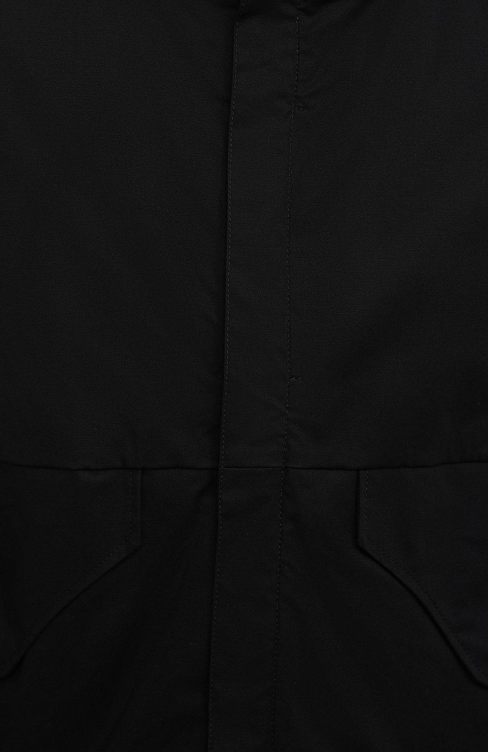 Мужская пуховая куртка DANIELE BASTA черного цвета, арт. DB729T19X25CF/GHANA TEX CF | Фото 6