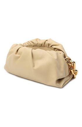 Женская сумка chain pouch BOTTEGA VENETA светло-бежевого цвета, арт. 620230/VCP40 | Фото 5