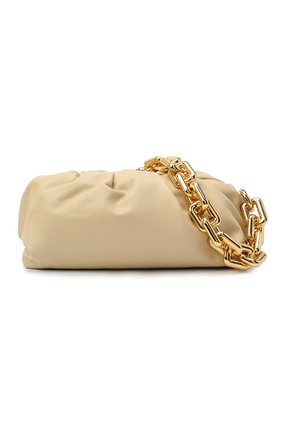 Женская сумка chain pouch BOTTEGA VENETA светло-бежевого цвета, арт. 620230/VCP40 | Фото 6
