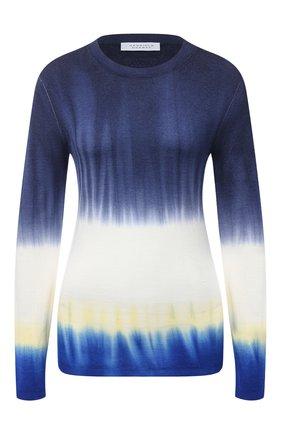 Женский кашемировый пуловер GABRIELA HEARST синего цвета, арт. 420929 A006   Фото 1