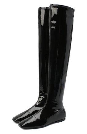Женские ботфорты GIUSEPPE ZANOTTI DESIGN черного цвета, арт. I080011/001   Фото 1