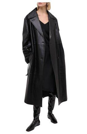 Женские ботфорты GIUSEPPE ZANOTTI DESIGN черного цвета, арт. I080011/001   Фото 2