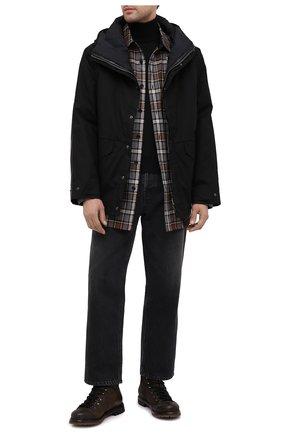 Мужские кожаные ботинки PREMIATA коричневого цвета, арт. 339P/VINZ+F0D M0NT0NE | Фото 2