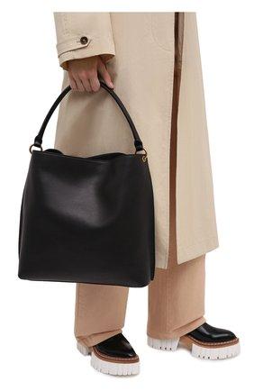 Женский сумка tag SAINT LAURENT черного цвета, арт. 635266/0RJ0W | Фото 2