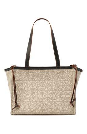 Женский сумка cushion LOEWE бежевого цвета, арт. A612A93X05 | Фото 1
