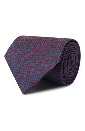 Мужской шелковый галстук BRIONI красного цвета, арт. 062H00/09425 | Фото 1