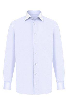 Мужская хлопковая сорочка BRIONI голубого цвета, арт. RCA20N/0906X | Фото 1