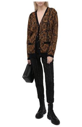 Женские кожаные ботинки BRUNELLO CUCINELLI черного цвета, арт. MZBSG1914 | Фото 2