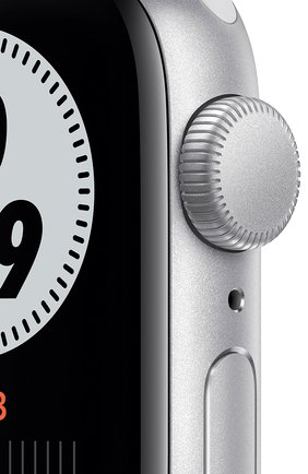 Смарт-часы Apple Watch Nike SE GPS 40mm Silver Aluminium Case with Pure Platinum/Black Nike Sport Band | Фото №2